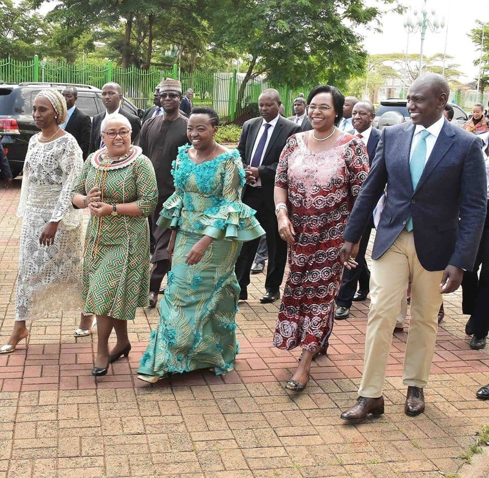 Margaret Kenyatta, Racheal Ruto excite Kenyans after hosting women empowerment event side by side