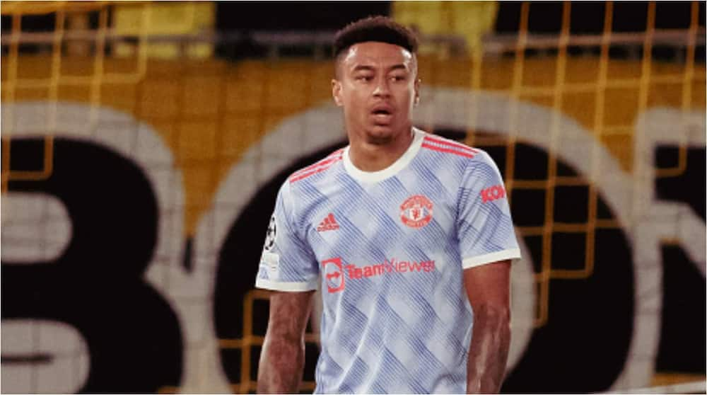 Jesse Lingard cuts a dejected face while in action against Young Boys. Photo: Ash Donelon.
