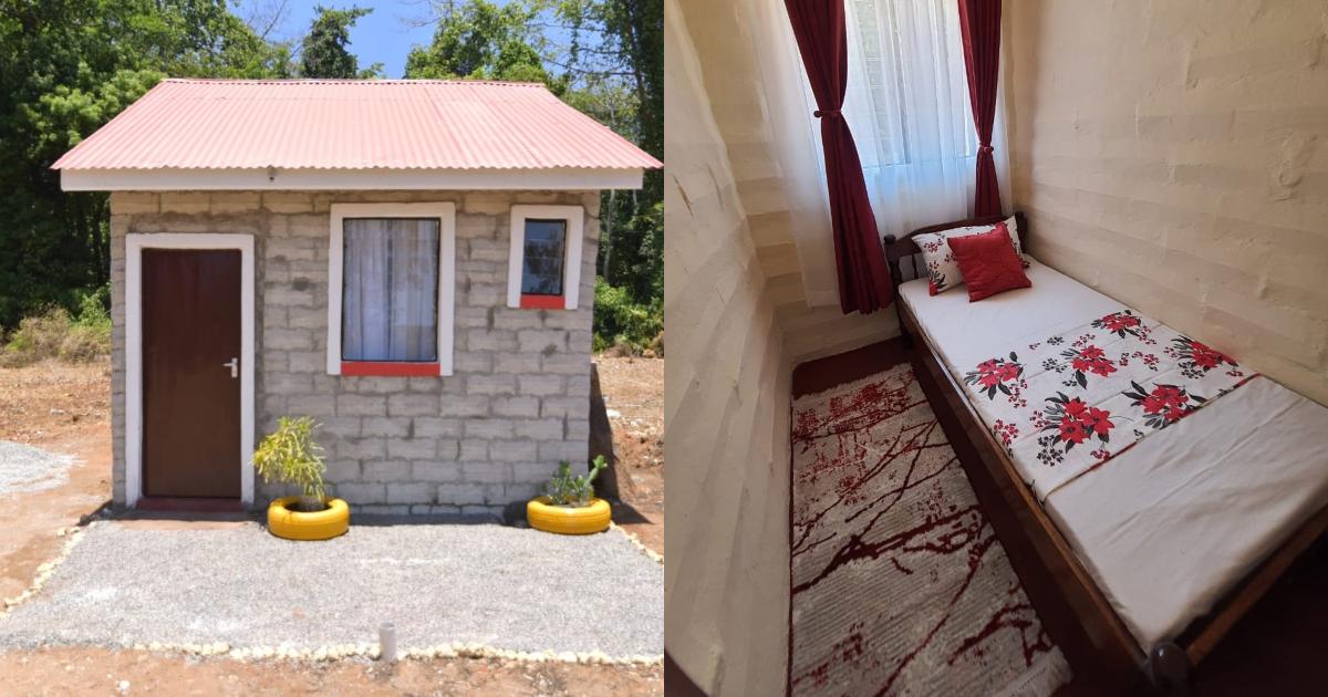 Kenyans amused by tiny KSh 500k home that has 2 bedrooms, all amenities  intact ▷ Kenya News | Tuko.co.ke
