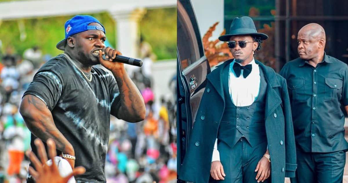 """Khaligraph Jones Fires Back at Bahati after Singer Released Diss Track: """"Wacha Kiherehere"""" ▷ Tuko.co.ke"""