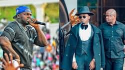 "Khaligraph Jones Fires Back at Bahati after Singer Released Diss Track: ""Wacha Kiherehere"""