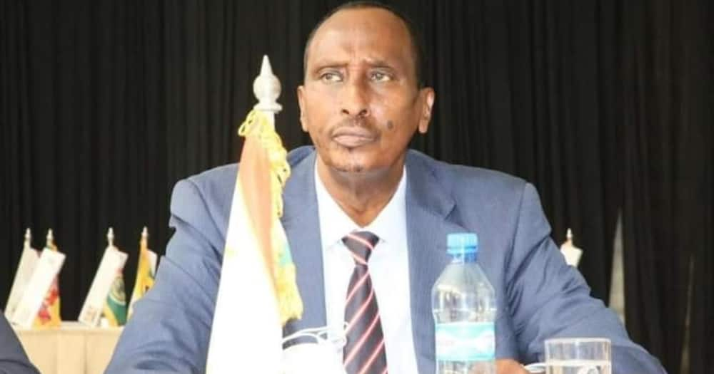 Ousted Wajir Governor Abdi Mohamud.Photo: Abdi Mohamud.