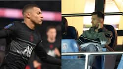 Lionel Messi Watches from Stands as Psg Claim Controversial Win Over Angers