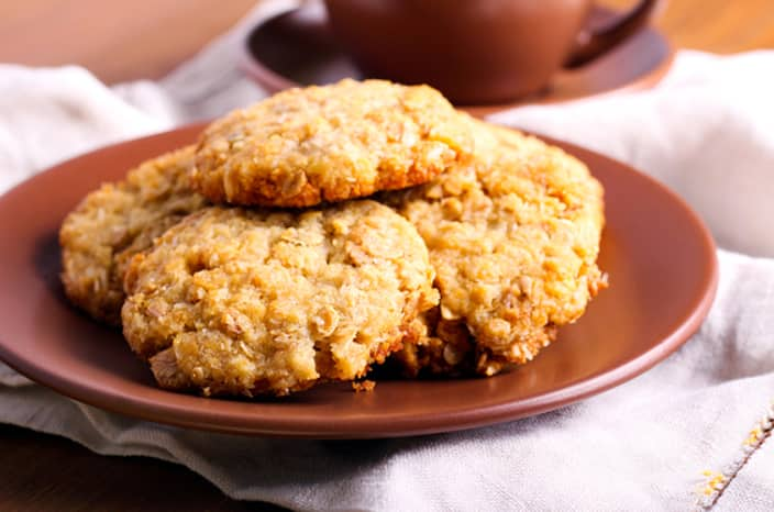 Healthy oat biscuit recipe