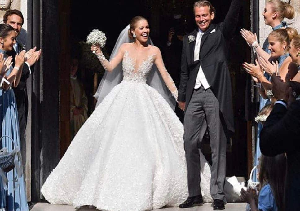 most expensive wedding gowns