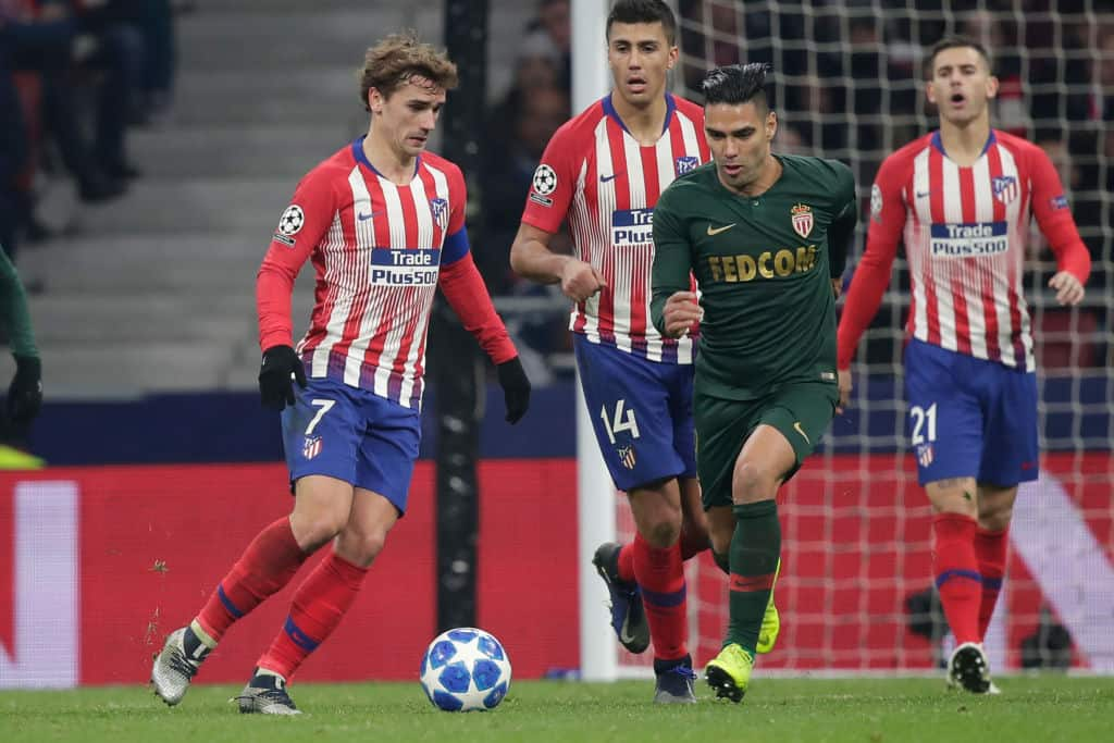 Thierry Henry's hopes dashed as Atletico Madrid put 2 past AS Monaco
