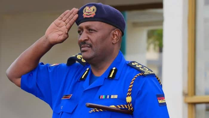 Hillary Mutyambai: Inspector General of Police Denies Claims He Has Been Hospitalised