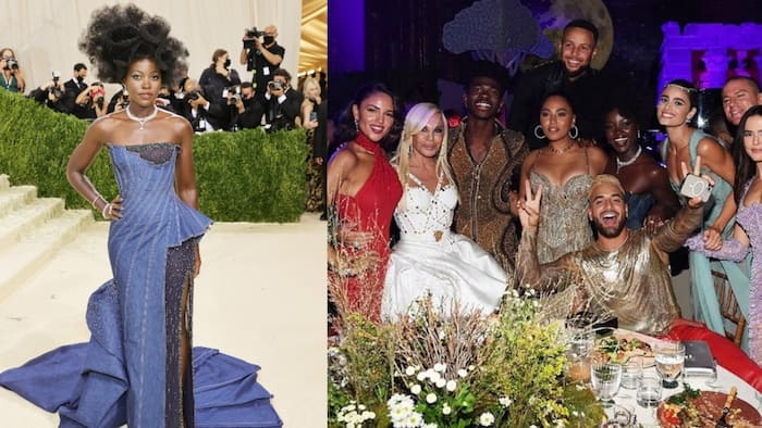 Lupita Nyong'o Spotted Hanging Out with Pop Star Lil Nas X, Steph Curry at Met Gala