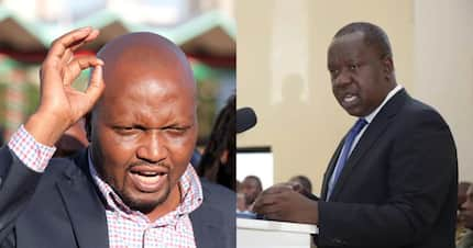 MP Moses Kuria says CS Matiangi's new role is similar to his idea of creating prime minister post