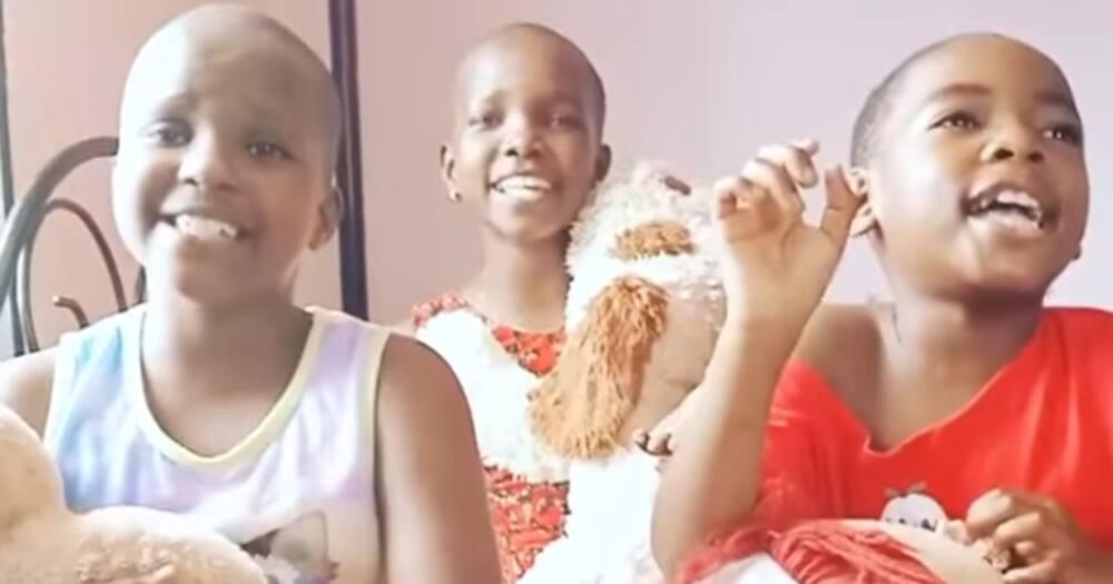 "Three Adorable Kids Praise God in Acapella-Like Performance: ""Nikupee Nini Mungu Wangu"""