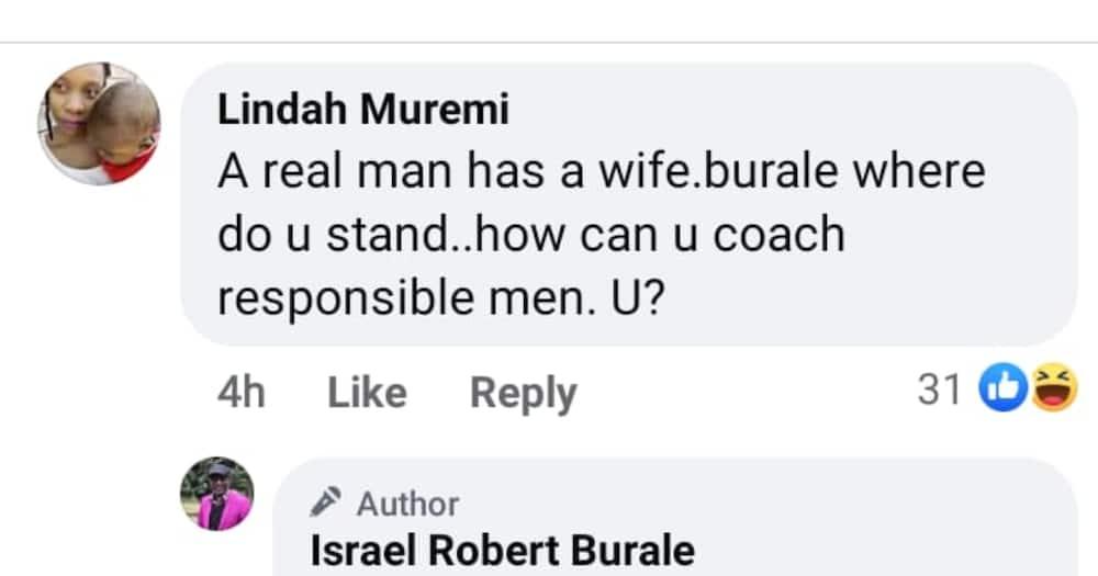 Robert Burale Shuts Down Troll Who Said He Can't Coach Men Because He Has No Wife