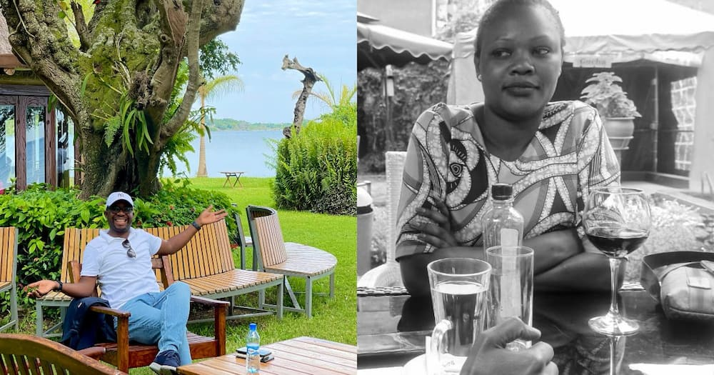 Silas Jakakimba Denies He Is in A Relationship with Writer Aoko Otieno
