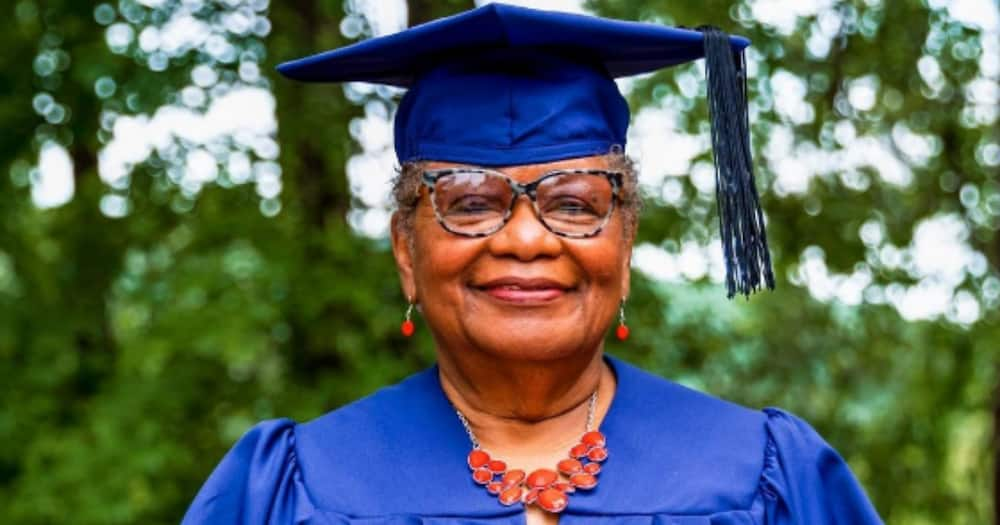 """Great Grandmother, 78, Graduates with 1st Degree: """"I Had the Lord on My Side"""""""