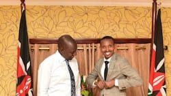 MP Moha Jicho Pevu elicits mixed reactions from Kenyans after photo with William Ruto