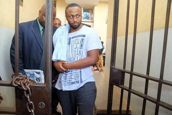 Jowie is the prime suspect in the murder of businesswoman Monicah Kimani.