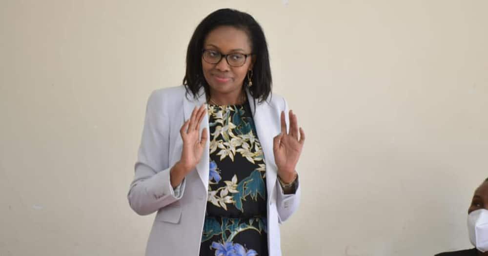 Nakuru senator Susan Kihika. Photo: Susan Kihika.