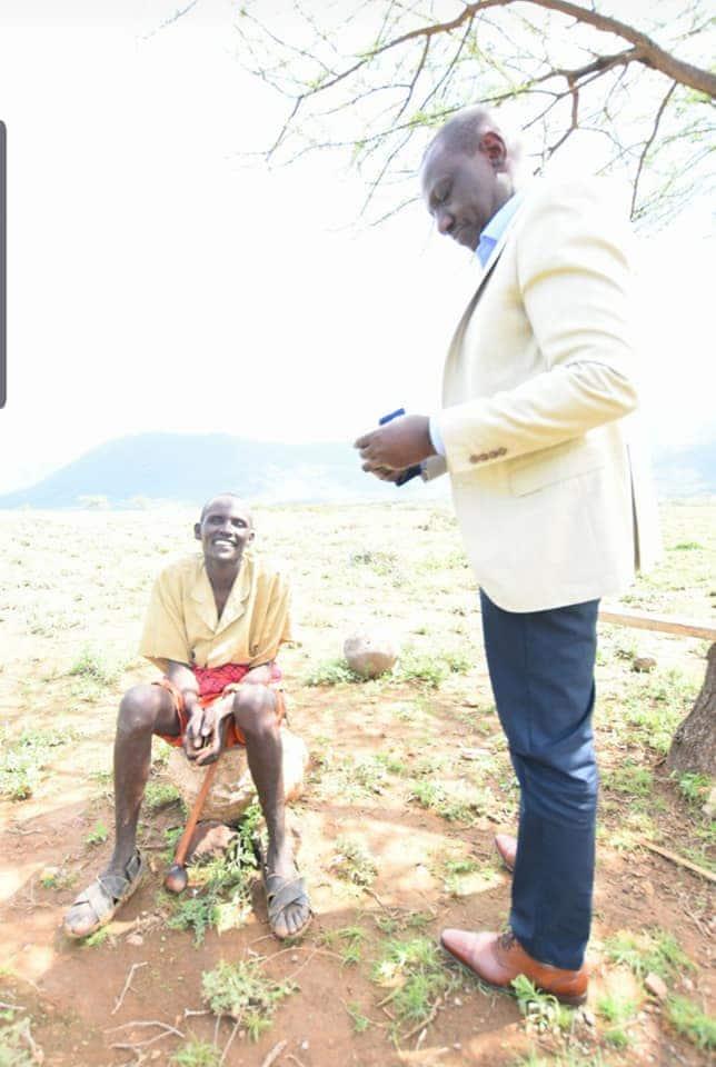 Mzee wa Samburu ashangaza DP Ruto baada ya kukataa pesa zake