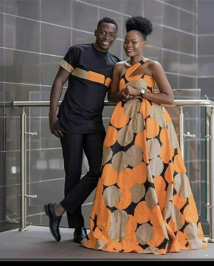 his and hers African attire