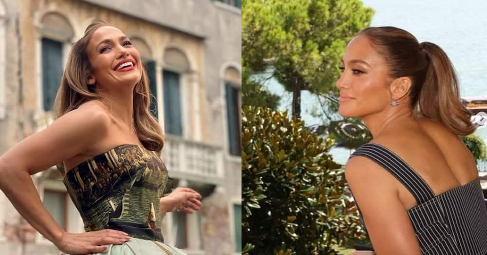 Jennifer Lopez spoke of feeling like an outsider