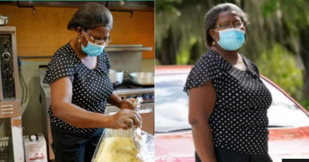 Heart of gold: 60-year-old widow who feeds over 1,000 people weekly surprised with a car