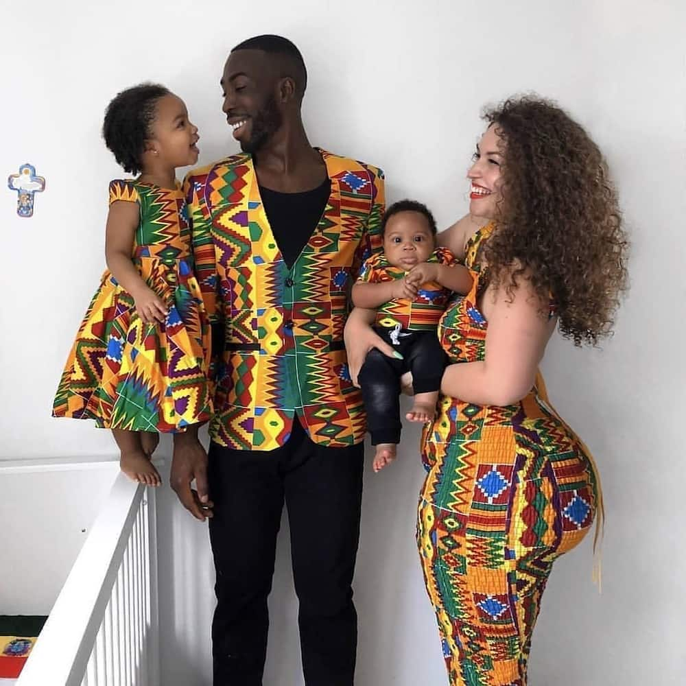 African outfits for male and female
