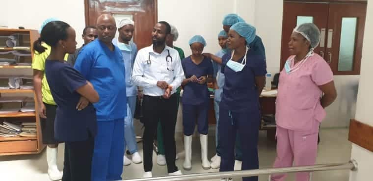 IT technician pleads with Kenyans to help raise KSh 700k for brain surgery, save his sight