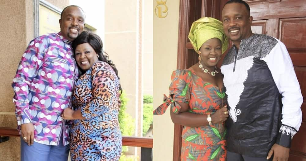 """Bishop Kiuna celebrates wife birthday in sweet message: """"You were the light that shone brightest when mine dimmed"""