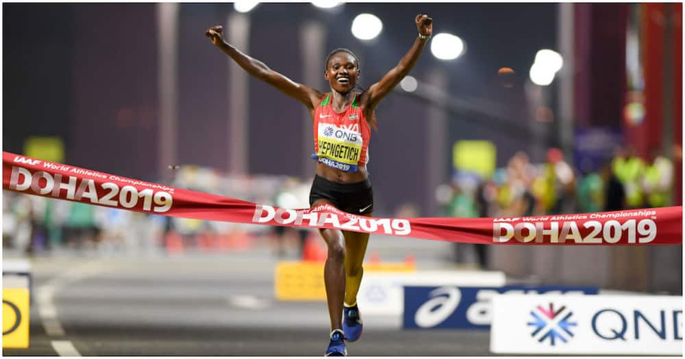 Kenya's Ruth Chepng'etich Smashes World Record to Win Istanbul Half Record