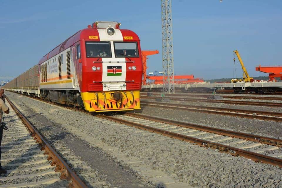 Kenya Railways.