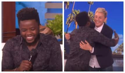 Lucky Kenyan receives KSh 2.5 million from American TV show host Ellen Degeneres