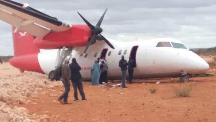 Skyward Express: Passengers, Crew Safe as Plane Crash-Lands in Mandera