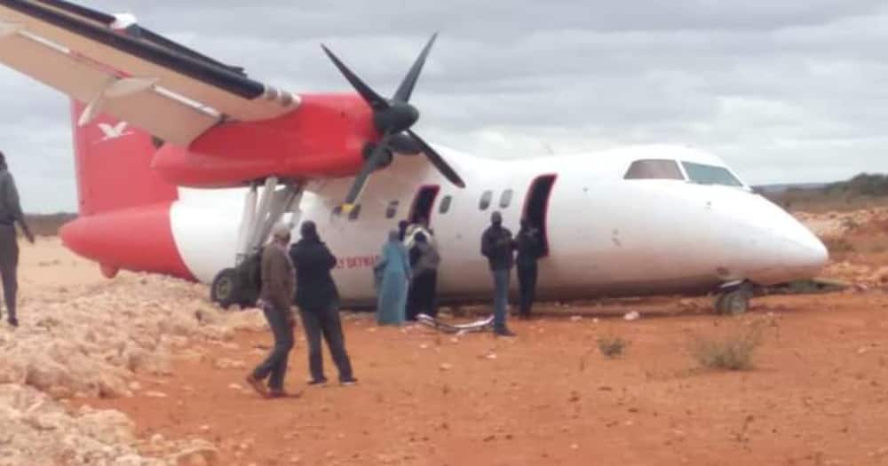 Skyward Express said the cause of the incident was yet to be established.