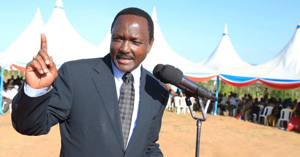 Kalonzo Musyoka said he would be looking forward to defeating William Ruto in 2022.