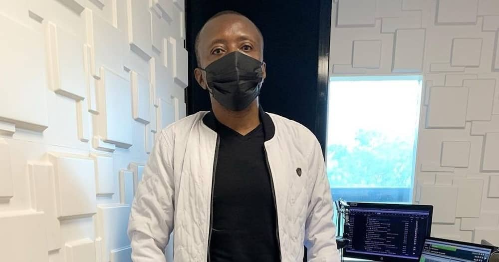 Maina Kafeni has been away from Kiss 100 for about two weeks.