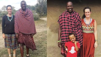 Mzungu Woman Narrates Falling in Love With, Marrying Maasai Man She Met in Tanzania