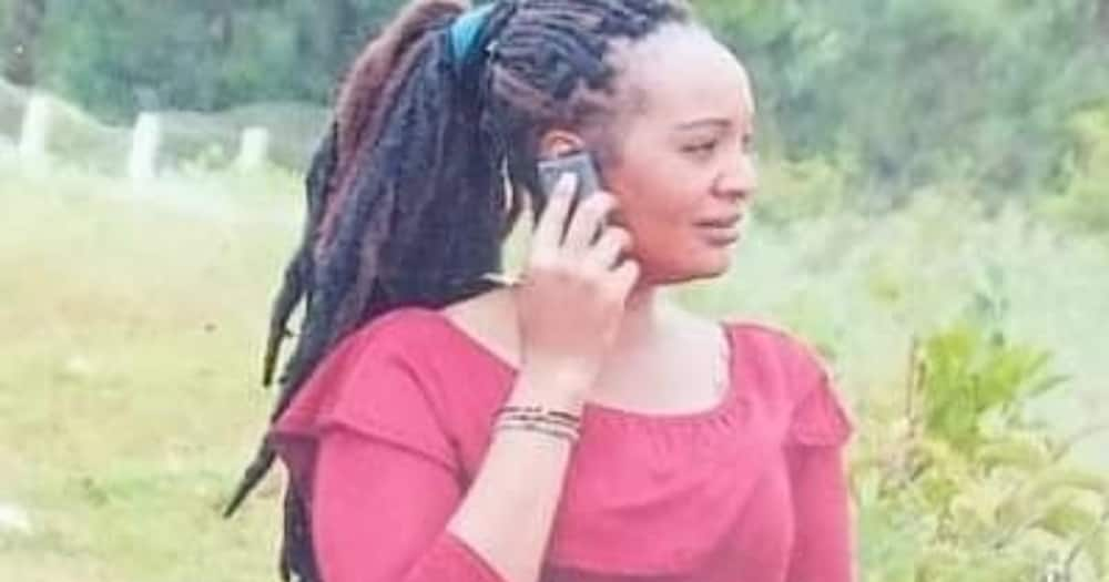 Joyce Wanjiru's boyfriend Golden Nyakundi is on the run.