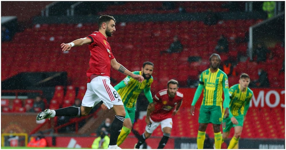 Manchester United vs West Brom: Fernandes' penalty fires Red Devils' crucial victory