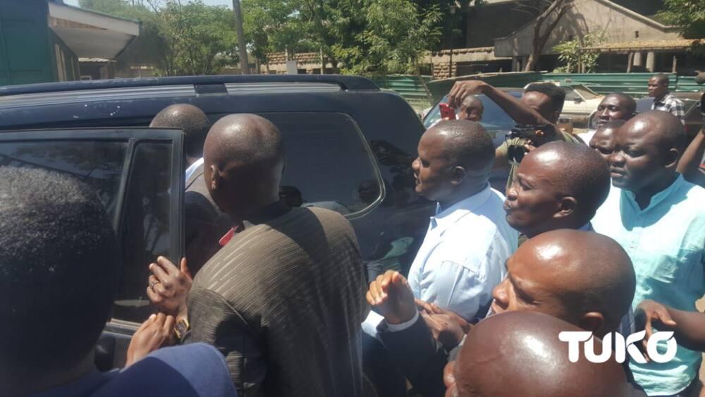 Adhabu ya ufisadi: Obado, makinda wake 4 waswekwa korokoroni hadi wiki ijayo