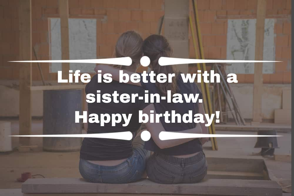 Sister-in-law quotes