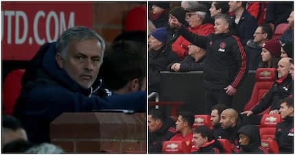 Bizarre theory emerges on why Solskjaer sits in different dugout seat to Mourinho