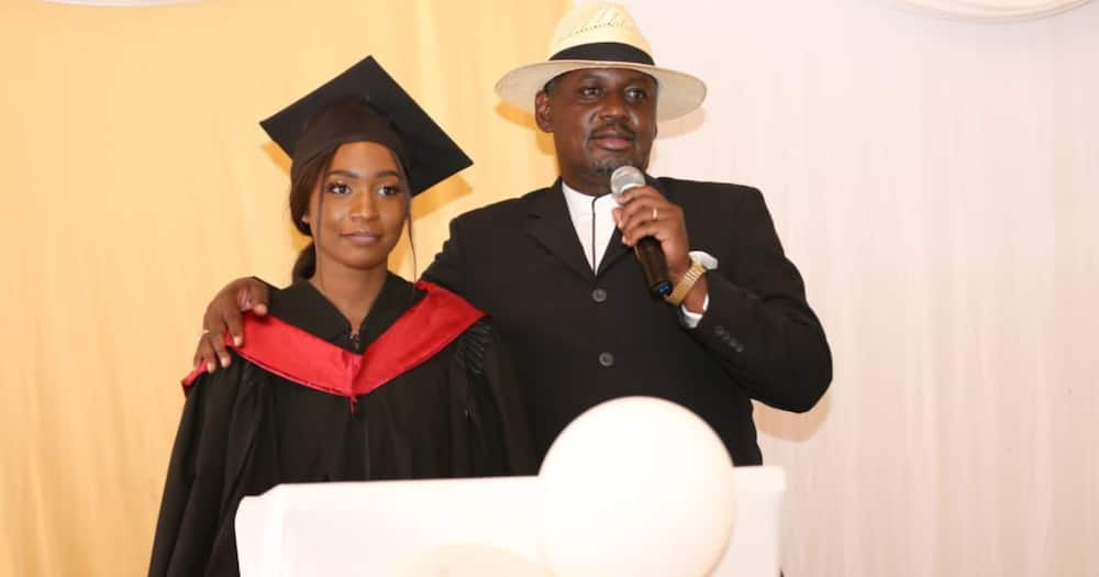 MP Otiende Amollo's daughter follows dad's footsteps, graduates with law degree
