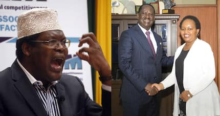 Miguna Miguna tears into Raila over Waiguru reconciliation