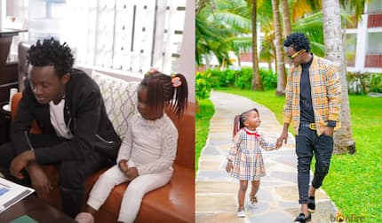 Flamboyant gospel singer Bahati to take first born daughter to lavish school paying KSh 167k per term