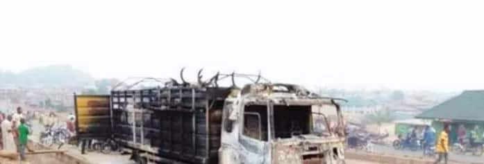 A reverse image search revealed that the incident happened in Nigeria. Photo: Africa Check