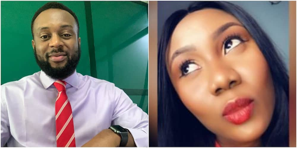 Young lady shoots her shot and ends up hitting the crossbar, Nigerians react