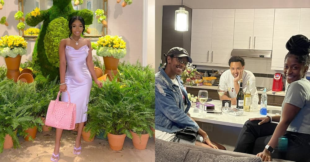 Hubby Organises a Girls' Night for His Lady After She Has a Tough Day