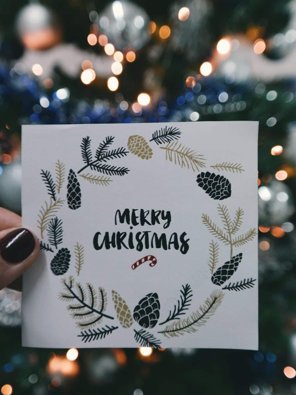 20 best printable Christmas cards 2018