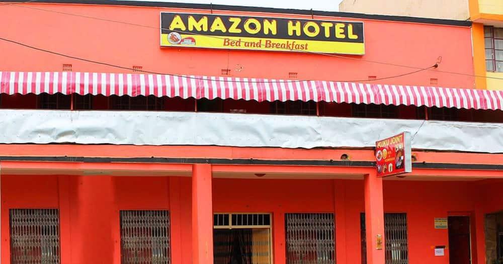 Amazon Hotel.