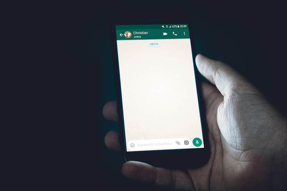 WhatsApp text formatting