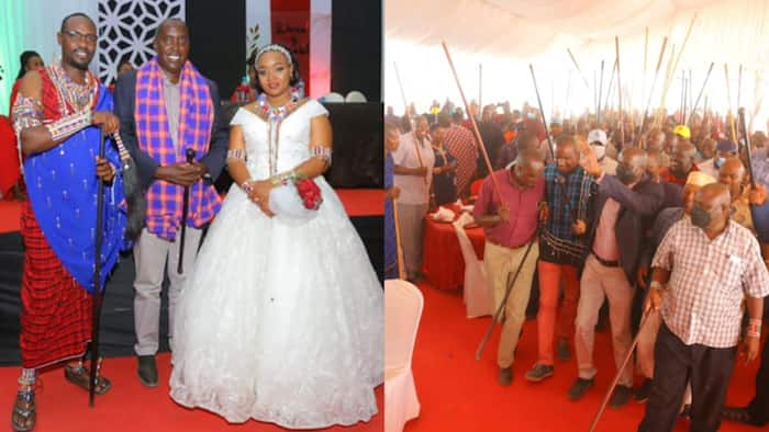 Former Cabinet Minister Stanley Oloitipitip's Son Marries Tanzanian MP's Daughter in Lovely Ceremony